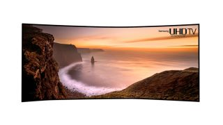Samsung unveils 105-inch curved Ultra HD TV ahead of CES
