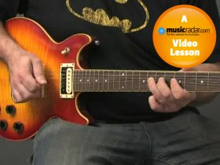 The minor pentatonic scale is one of the easiest to string bend with