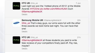 HTC and Samsung have petty, childish (and quite funny) Twitter cat fight