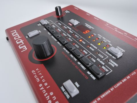 Its single mono output aside, the Nord Drum is a fantastic, beautifully built slab of equipment.