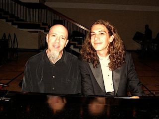 The Fabulous Baker Boys No it s Jordan Rudess from Dream Theater along with 18 year old prodigy Eren Basbug