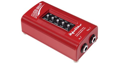 The Red Box 5 is a DI box that emulates cab characteristics using clever EQ options