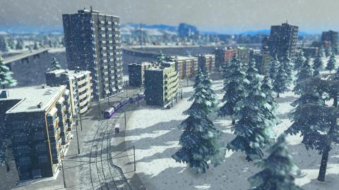 Skylines Snowfall