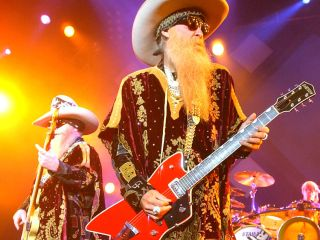 ZZ Top bring greasy Texas riffs to a field in London