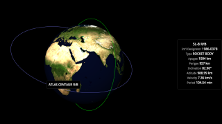This interactive map shows everything in Earth's orbit