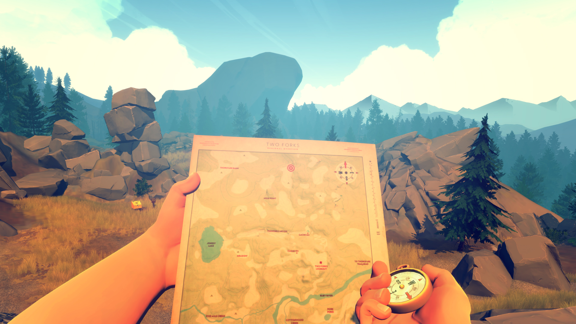 Firewatch game - best indie games