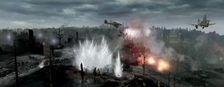 Company of Heroes 2 bombing run