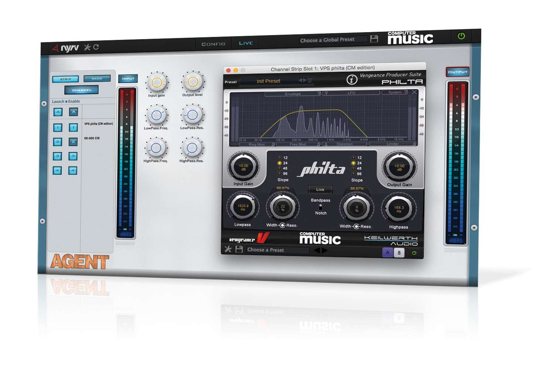 Free VST/AU/AAX effects rack: Agent CM   MusicRadar