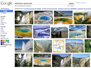 Google Images - a whole new look