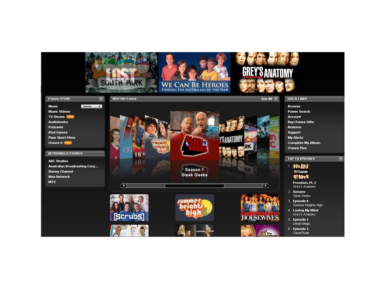 Itunes Store Gets Hd Tv Show Update Techradar