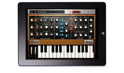 Arturia's iMini is an accomplished take on the classic Minimoog
