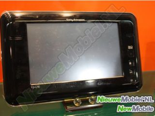 It's just a prototype for now, but Sony Ericsson could be releasing a tablet in the future