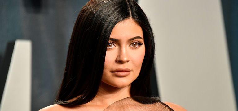 Kylie Jenner attends the 2020 Vanity Fair Oscar Party hosted by Radhika Jones