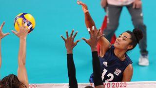 Team USA vs Turkey volleyball
