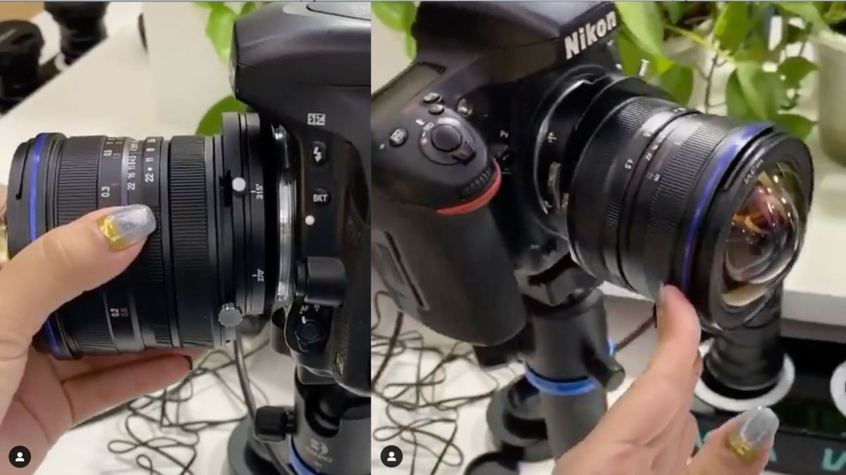 Laowa 15mm f/4.5 shift lens set to bring perspective control to Sony and L mount