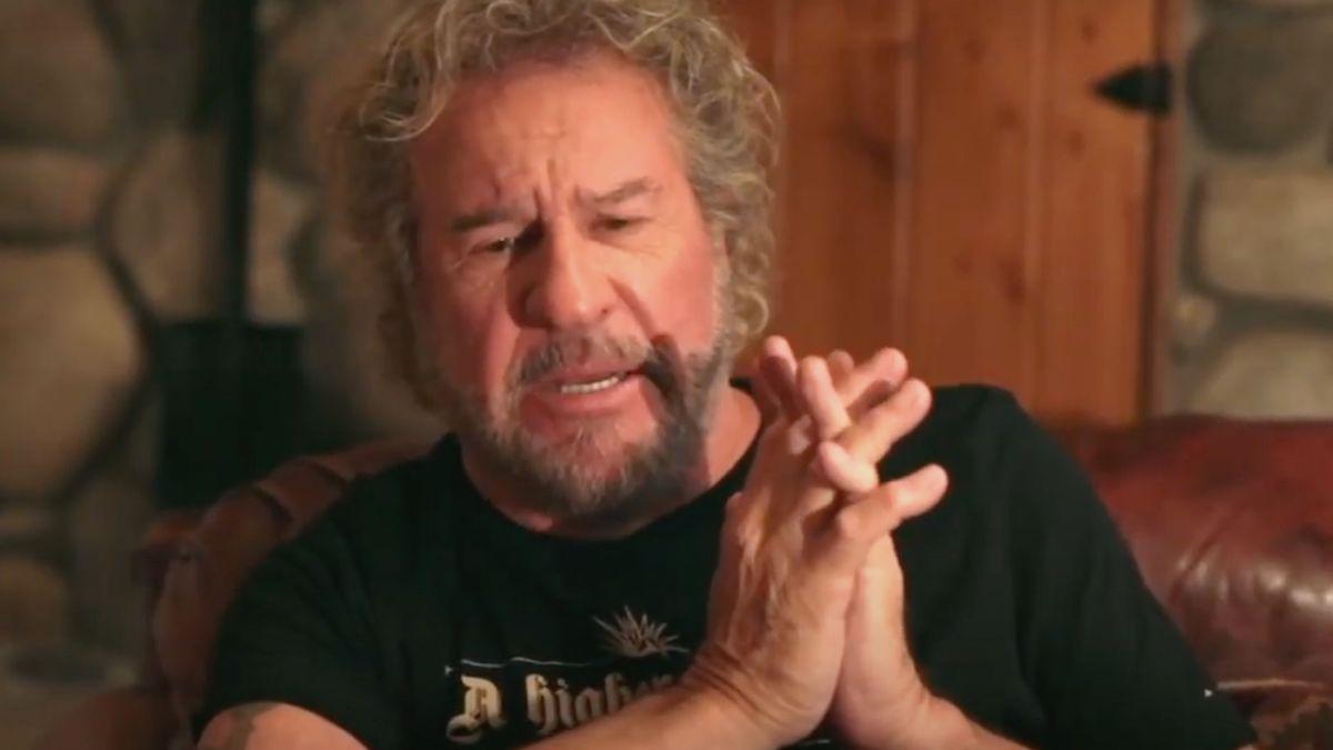 Sammy Hagar says he 'fell apart' when he learned of Eddie Van Halen's death