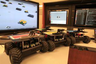 Self-Driving Swarmie Robots