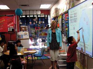 e - no® enables ESL teacher to speak a language her students understand