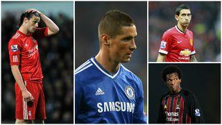 Andy Carroll, Fernando Torres, Angel Di Maria, Jo