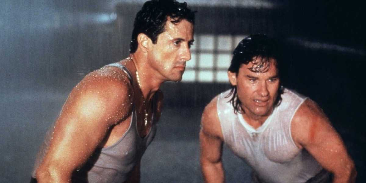 Sylvester Stallone and Kurt Russell in Tango & Cash