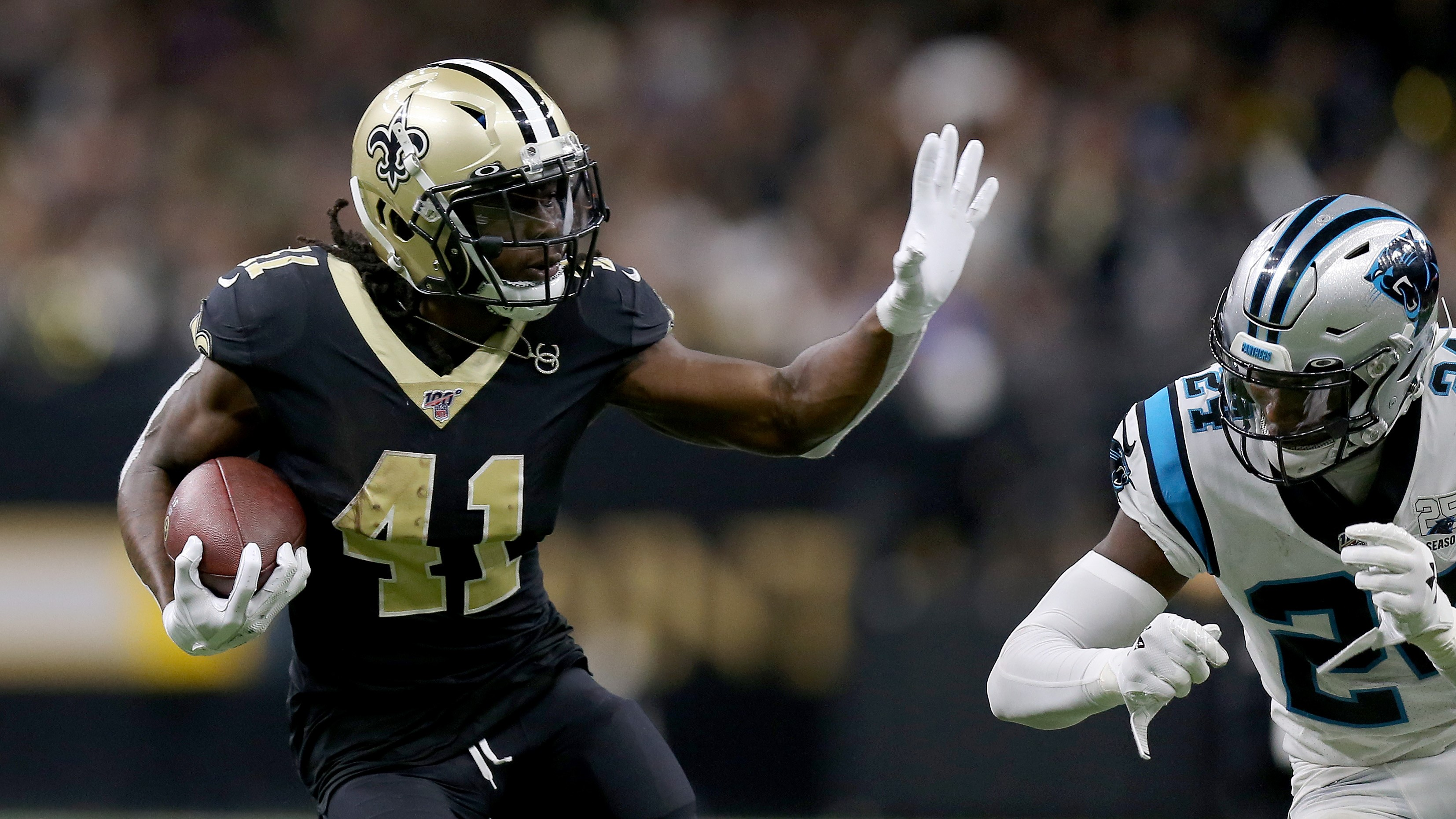 Saints vs Panthers live stream: how to watch NFL week 7 online from anywhere thumbnail