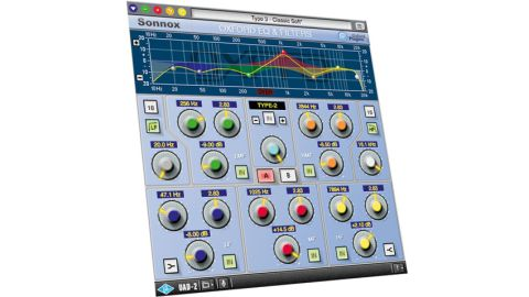 Sonnox EQ recreates the tone-shaping capabilities from the OXF-R3 digital mixing console