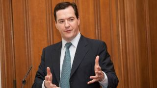 UK chancellor George Osborne