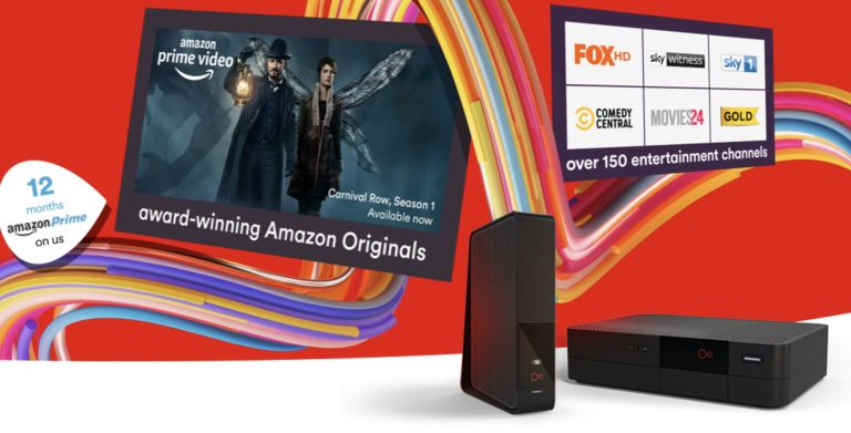 Virgin Media free Amazon Prime deal banner