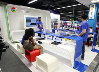 Google launches Chrome Zone in London store