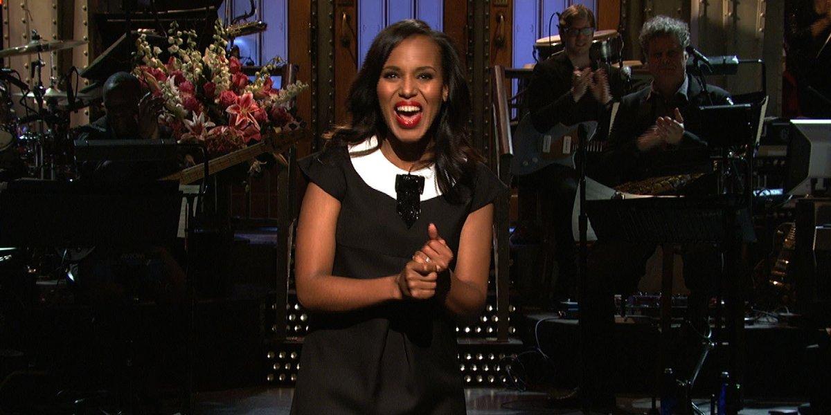 Kerry Washington hosting Saturday Night Live