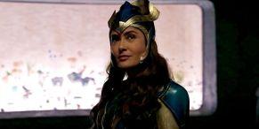 Why Eternals' Salma Hayek Was Originally 'Terrified' Of Her Costume