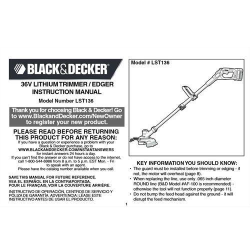 Black & Decker LST136 Review - Pros, Cons and Verdict   Top