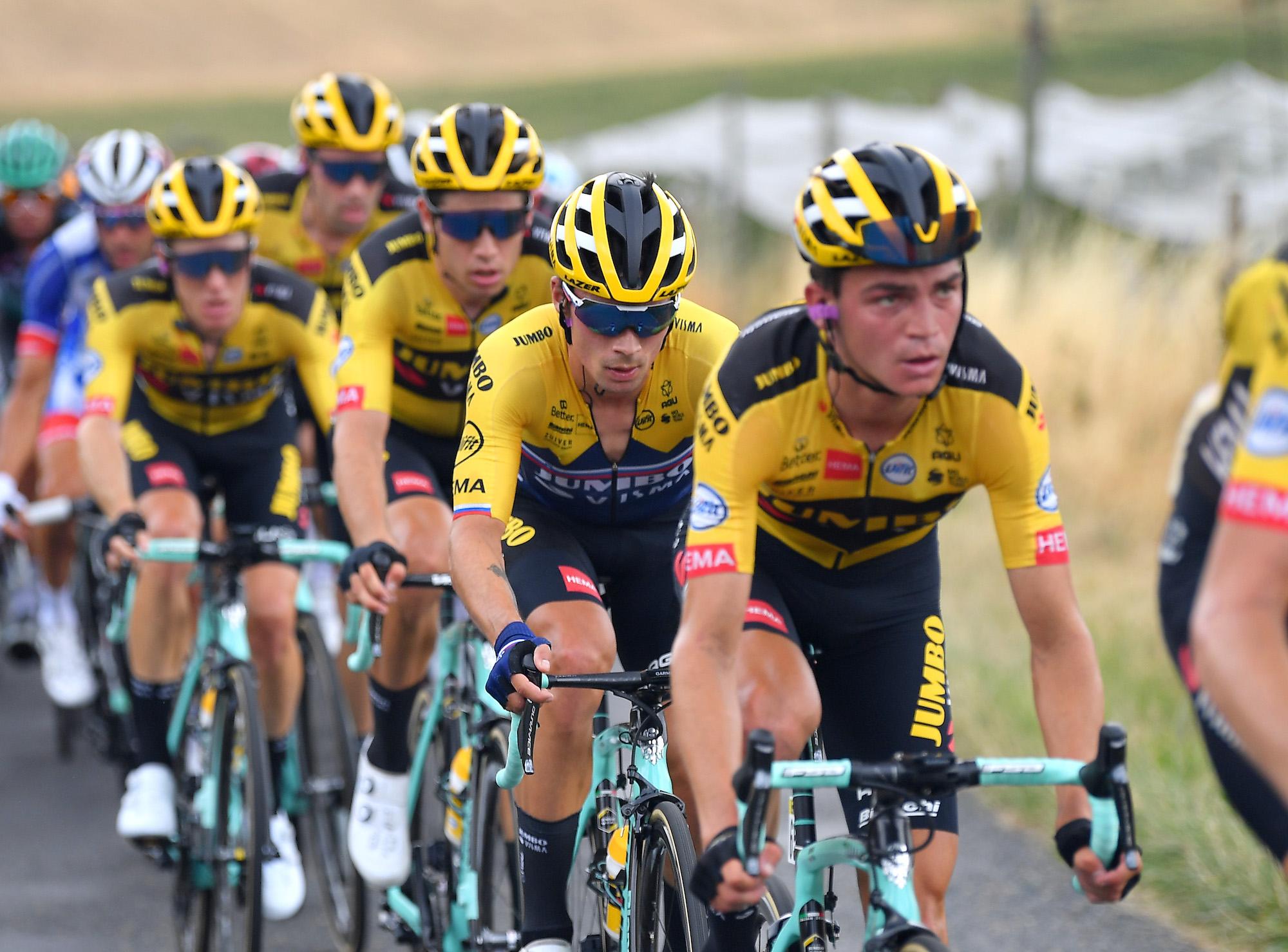 'I keep an eye on Egan Bernal,' says Primož Roglič as Jumbo-Visma find winning formula - Cycling Weekly