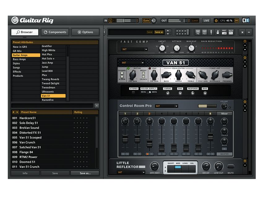 Native Instruments Guitar Rig 5 Pro Musicradar