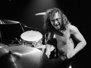 Ian Paice in action with Deep Purple