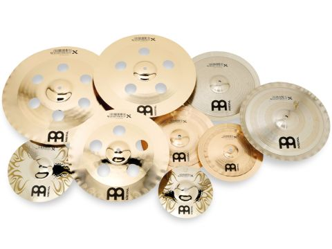 Effects cymbals allow programmed sounds to be reproduced acoustically