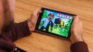 roblox on a tablet