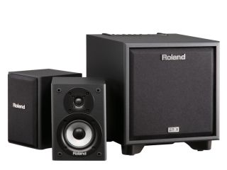 Roland's CM-220 Cube Monitor system