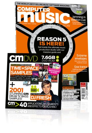 Computer Music 156, October 2010