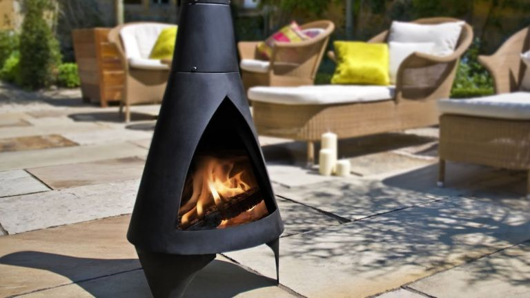 The best garden furniture for enjoying spring and summer: La Hacienda Chiminea