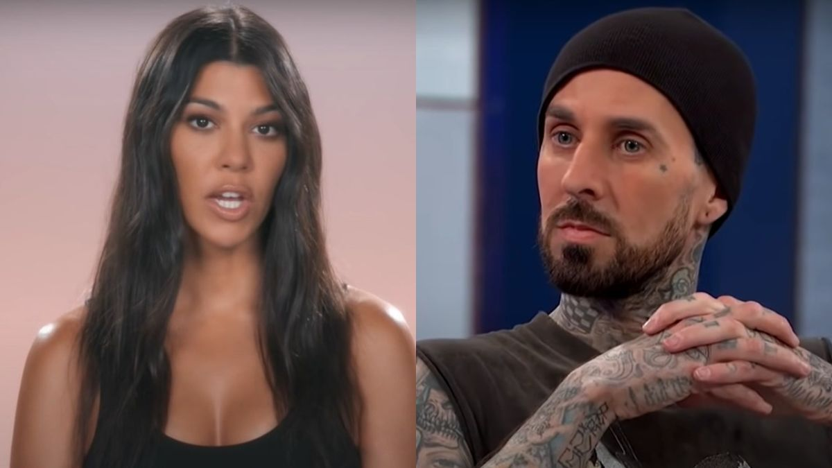 Kourtney Kardashian And Travis Barker Perfectly Channeled Some Punk Rock Icons Ahead Of Halloween