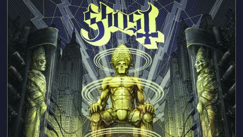 Cover art for Ghost - Ceremony And Devotion album