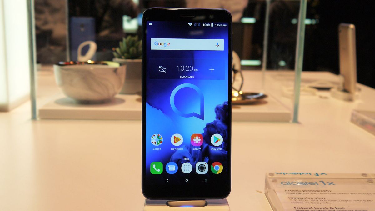 Alcatel 1x 2019 Hands On Review Techradar