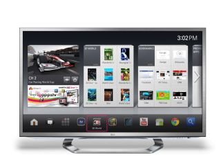 LG unveils integrated Google TV for CES 2012