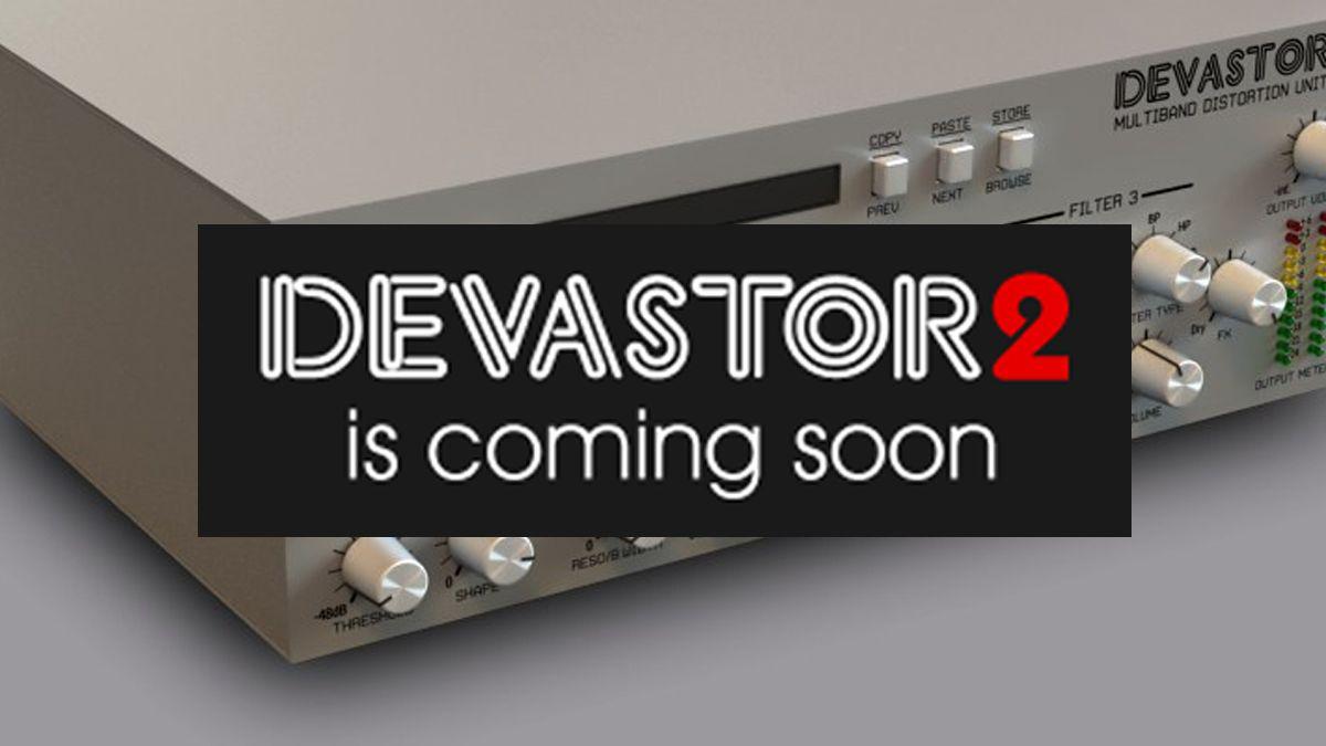 D16's Devastor distortion plugin to return with new features