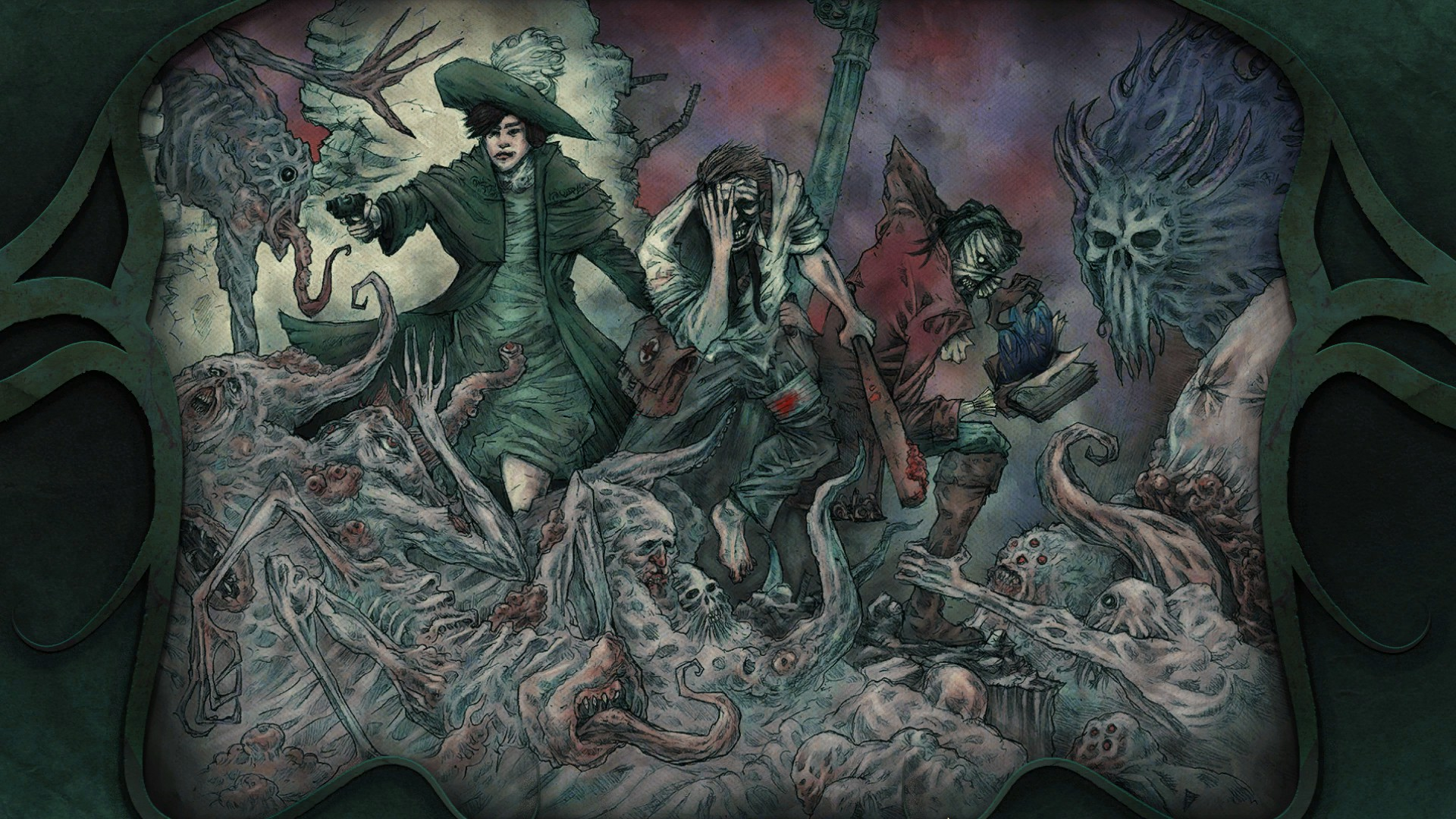 Cthulhu goes post-apocalyptic in Stygian: Reign of the Old Ones