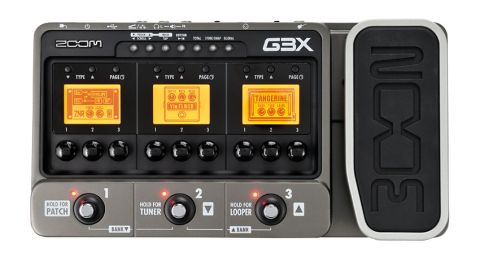 Zoom has added a treadle to the G3 mult-fx unit to create the G3X