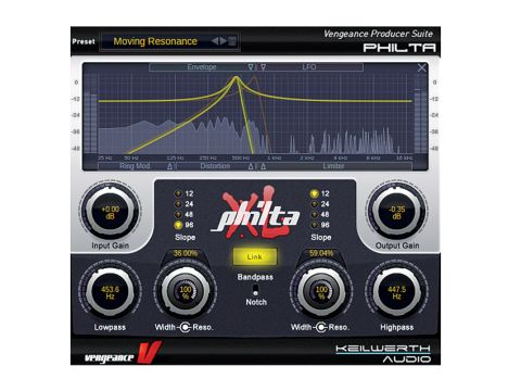 Philta XL offers numerous fantastic dance-flavoured presets.