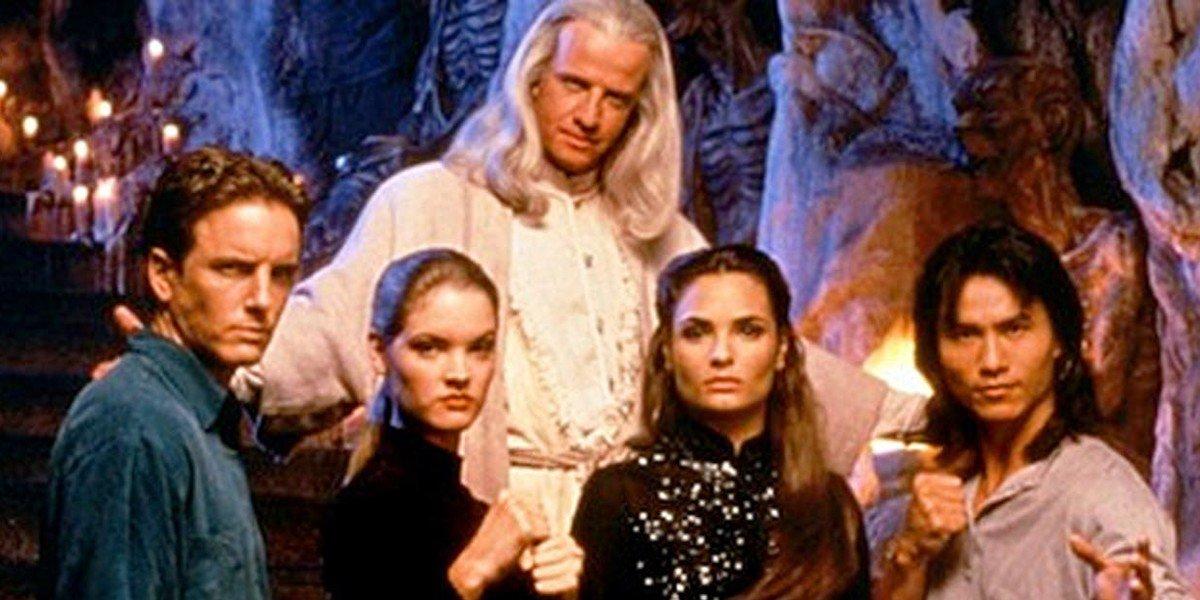 The cast of 1995's Mortal Kombat