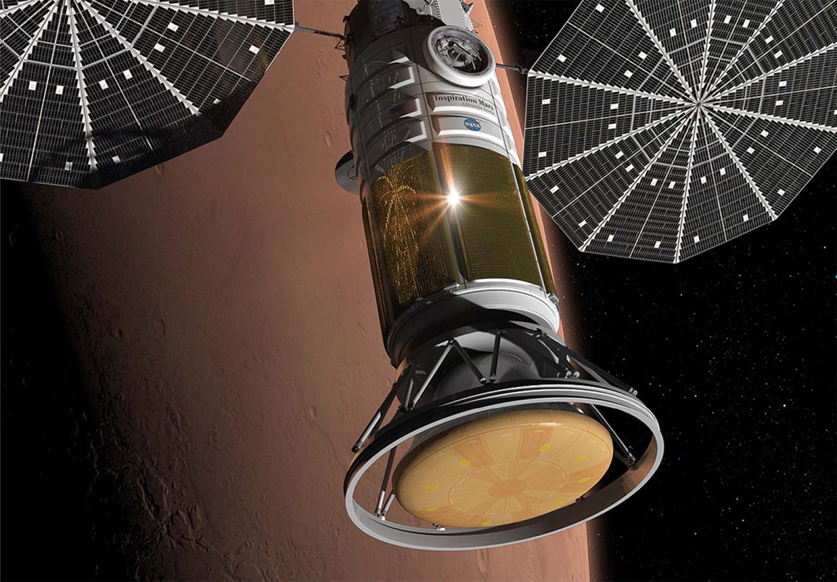 Inspiration Mars: Private Mars Voyage in 2021 (Gallery ...